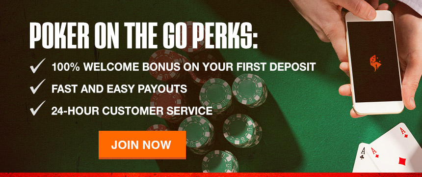 Play Mobile Online Poker for Real Money at Ignition Casino