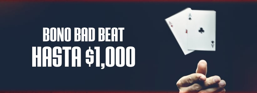Promociones de Poker: Bono de Bad Beat en Ignition Casino
