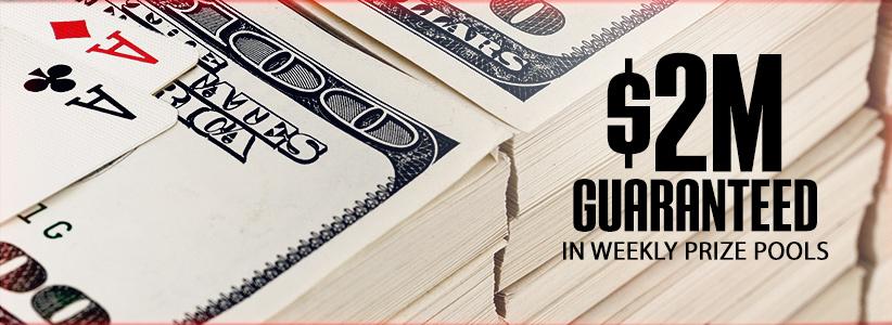 每周$2百万美元保证奖池