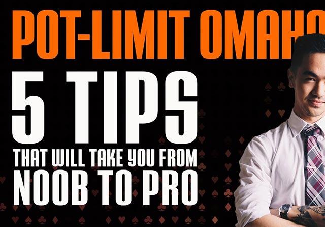 Pot Limit Omaha Strategy - 5 Pro tips