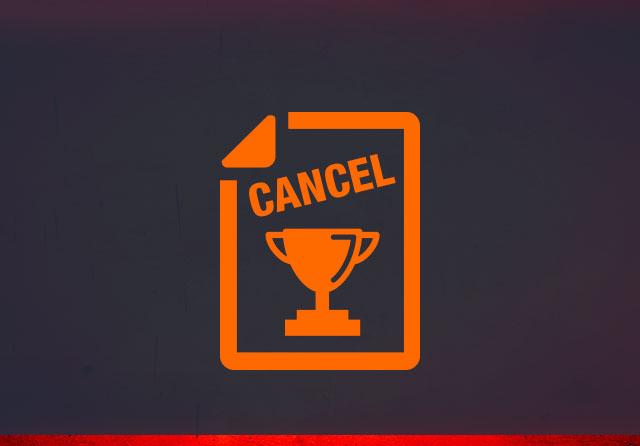 锦标赛取消政策