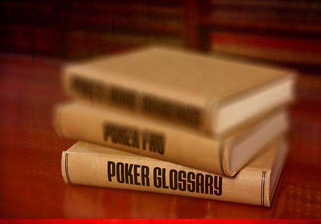扑克词汇表